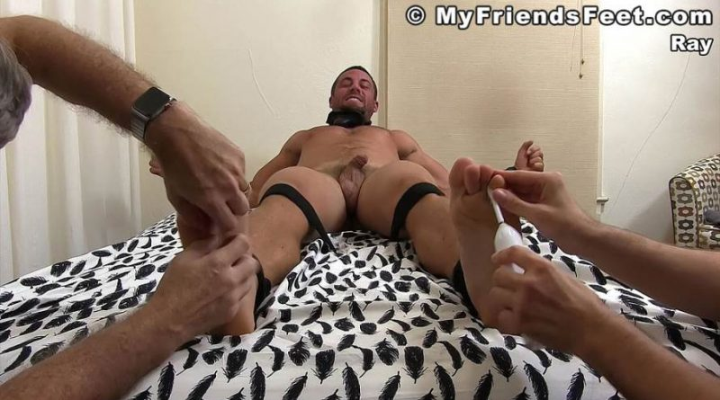 Ray Tagged, Gagged And Tickled 3