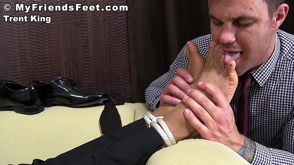 Beau Reed Worships Trent King's Foot 5