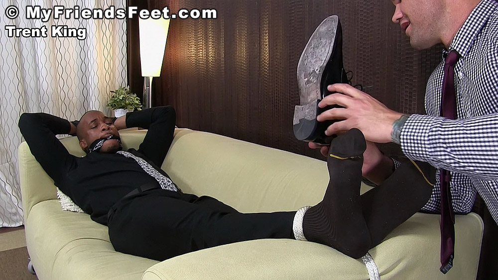 Beau Reed Worships Trent King's Foot