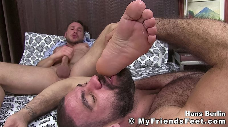 Ricky and Hans Berlin - Foot Fetish 4