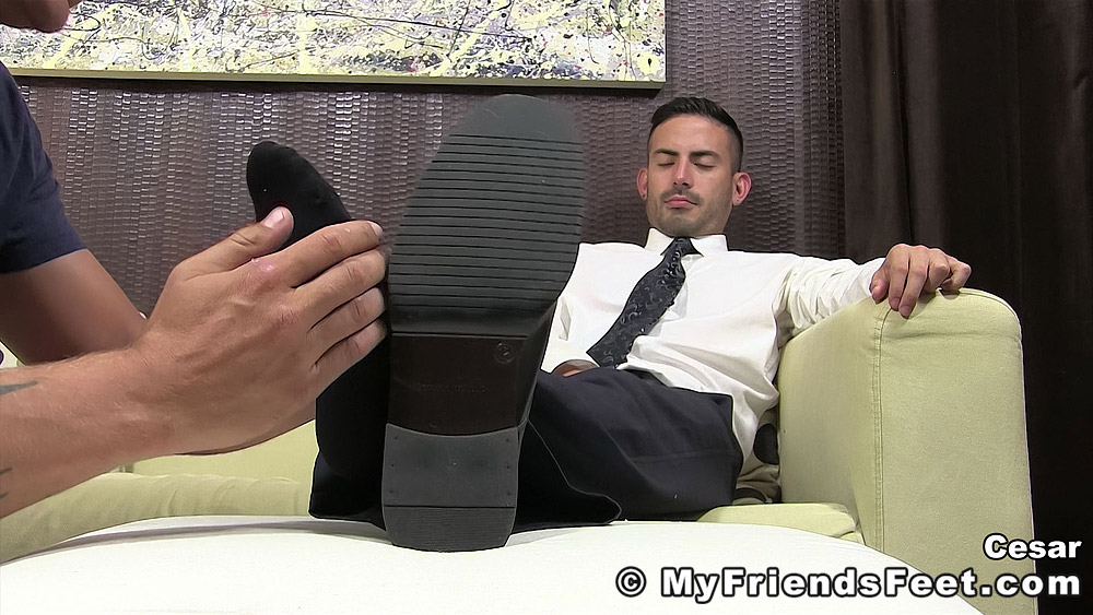 Cesar Rossi's Foot Worship