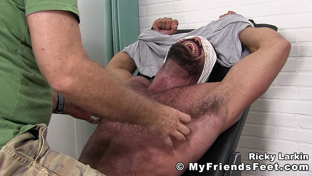 Ricky Larkin Edged and Tickled