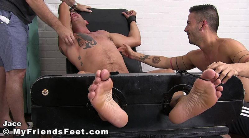 Cesar Rossi Tickles Jace Chambers 1