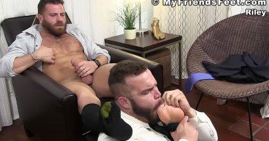 Daxx Carter Worships His Boss Riley 2