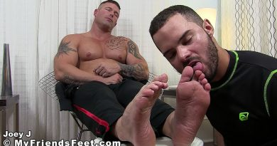 Joey J's New Foot Slave 1