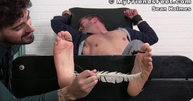 Sean Holmes Tickled By Co-Worker Casey 4