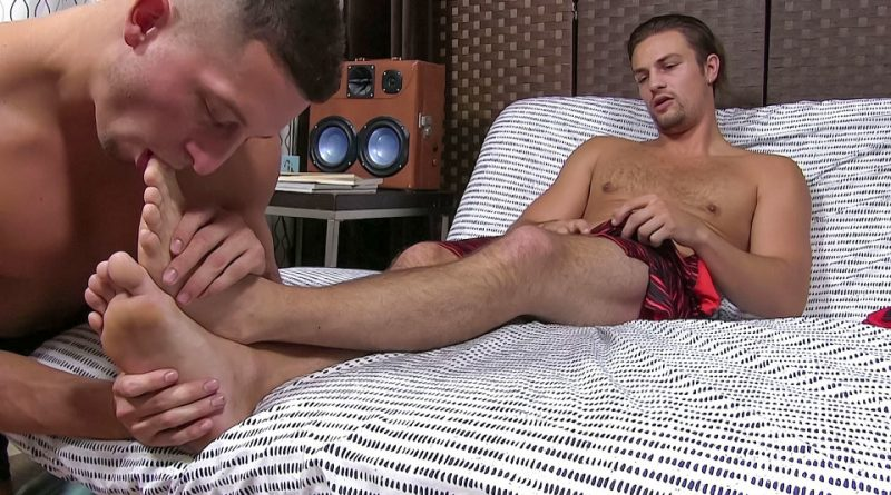 Charlie's Feet Worshiped After A Run - Charlie 1