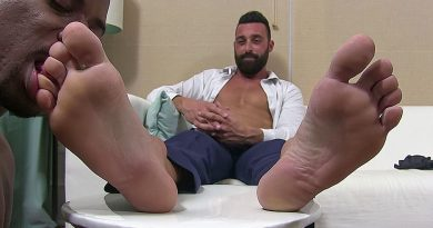 Joe's Tired Feet Worshiped - Joe 1