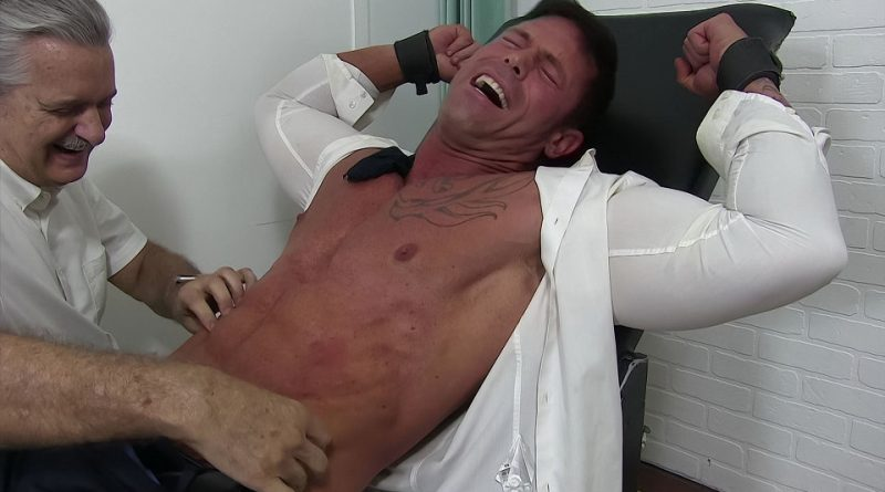 Joey Tickled In Sheer Socks - Joey 1