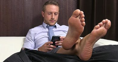 Kenny's Slave Serves His Socks & Feet - Kenny 1