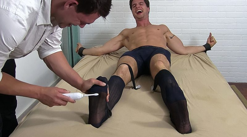 Sergey Tickled In Sheer Socks - Sergey 1