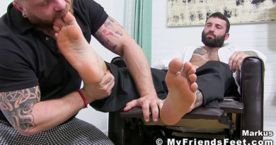 Boss Markus Kage Worshiped Until He Cums