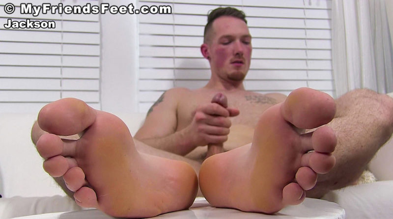 Jackson Cooper's Sock & Barefoot Wank