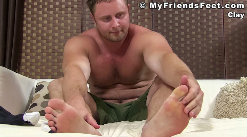 Clay T - Solo Foot Session