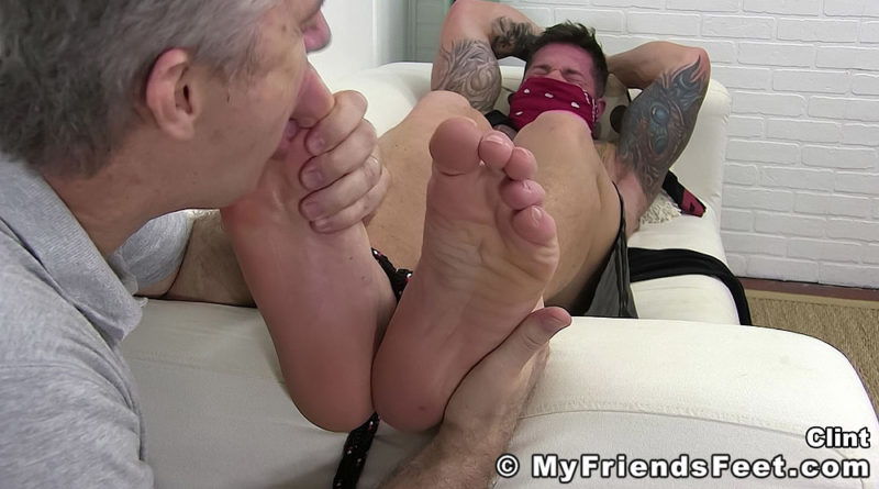 Clint Brown Worshiped & Tickled