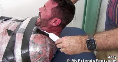 Joey J Tricked Into Tickling