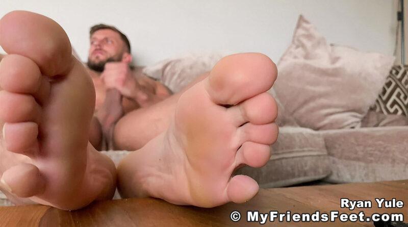 Ryan Yule's Barefoot Jackoff