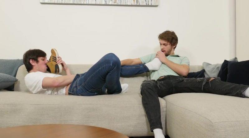 Jeremy Robbins & Jack Finix - Sneakers, Feet & Bareback