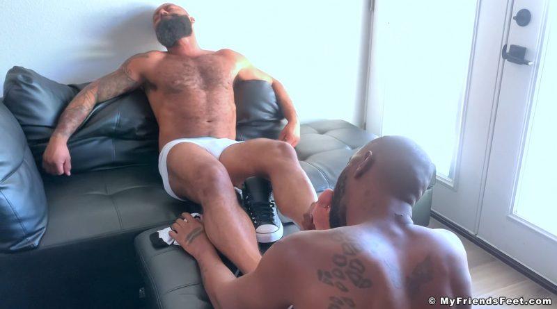 Leo Forte's Socks & Feet Worshiped