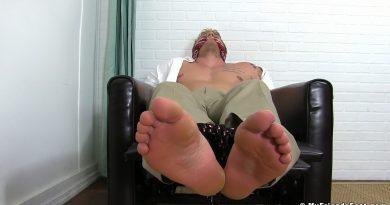 J B Iceman Captured In Sheer Socks