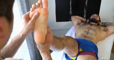Sam Vass Massaged & Worshiped By Rocky Vallarta