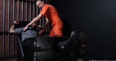 Prison Guard Rikk York Tickled